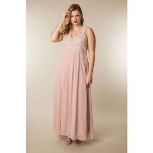 AX Paris Lace Bodice Maxi Dress